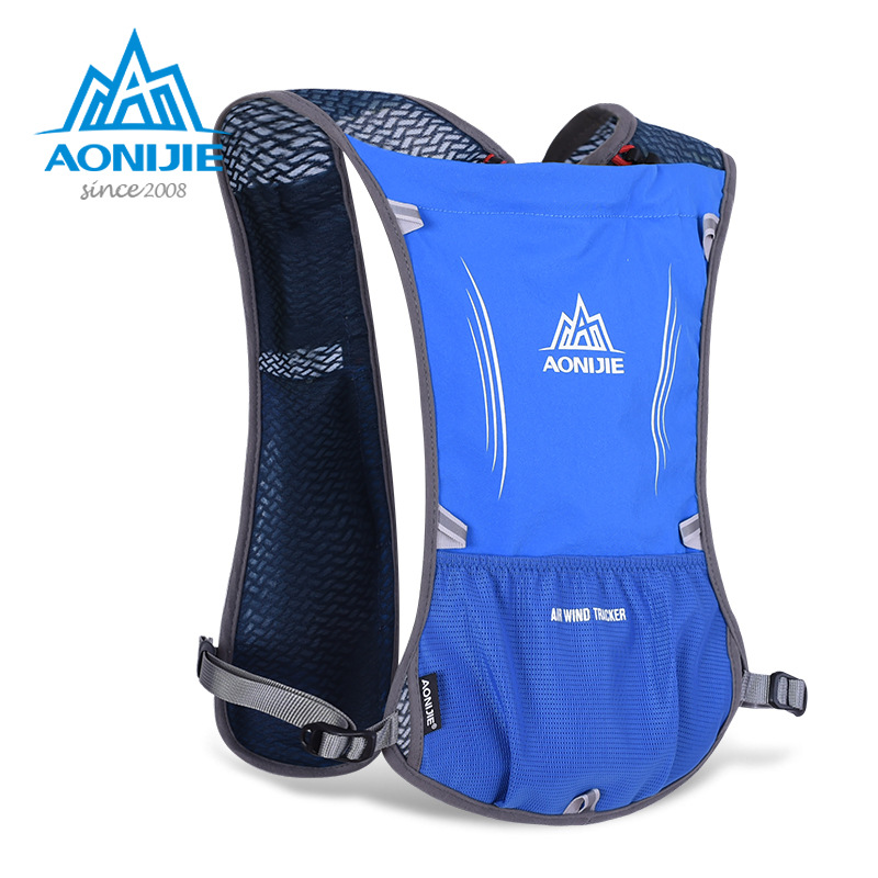 AONIJIE 5L outdoor bicycle cross-country running backpack backpack is not shaking bag package 1.5L Marathon XX016