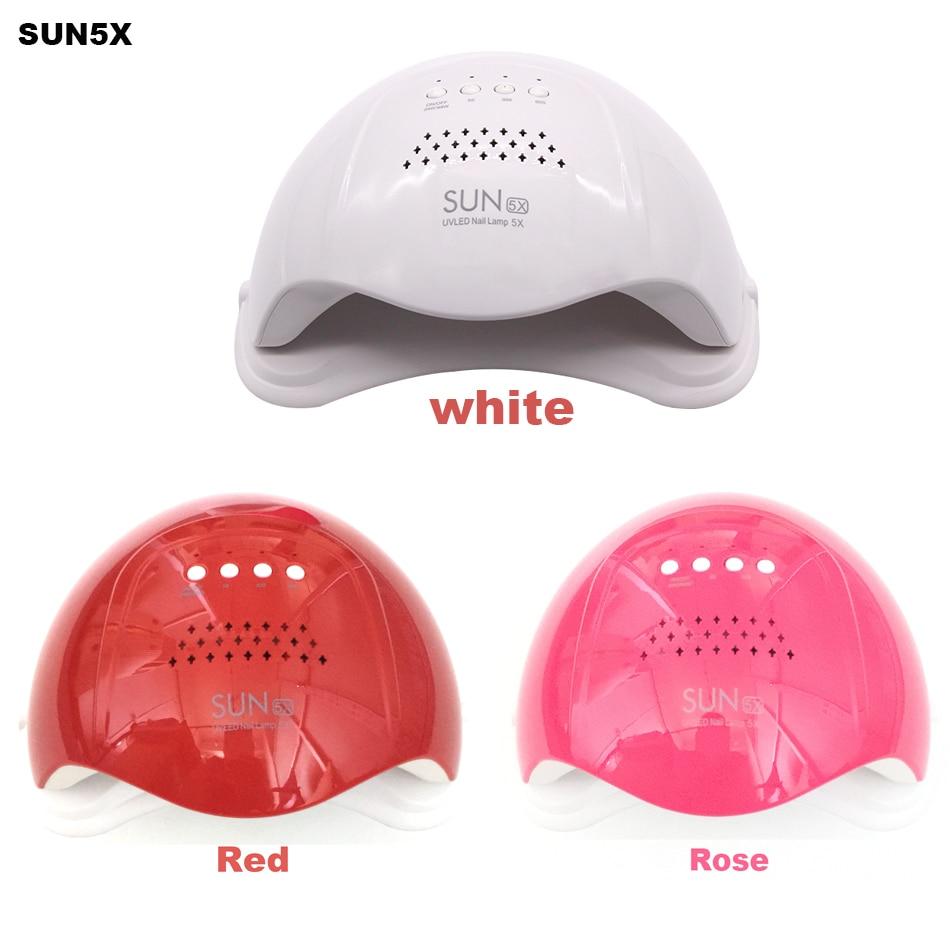 Image 2 - SUN5X  48W UV LED Nail Lamp Nail Gel Curing Lamp UV Gel Nail Dryer Nail Art Tool-in Nail Dryers from Beauty & Health