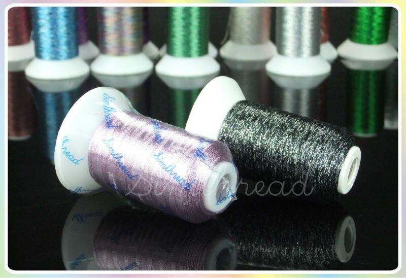 Simthread Metallic Embroidery Machine Thread Non-duplicated 32 - Өнер, қолөнер және тігін - фото 4