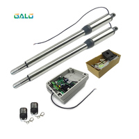 Galo 24VDC 220v AC Optional Electric Automatic Swing Gate Opener Motor For Steel Wooden Gate