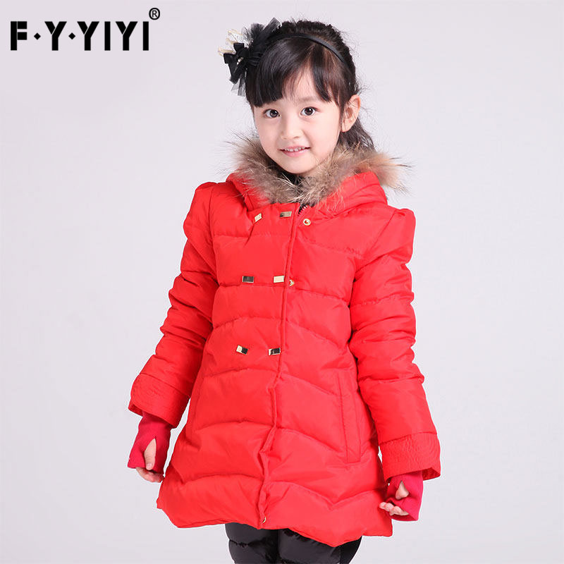 Girls down jacket in long autumn/winter 2016 more children down jacket to keep warm cuhk children's clothes бра lightstar meta duovo 807611