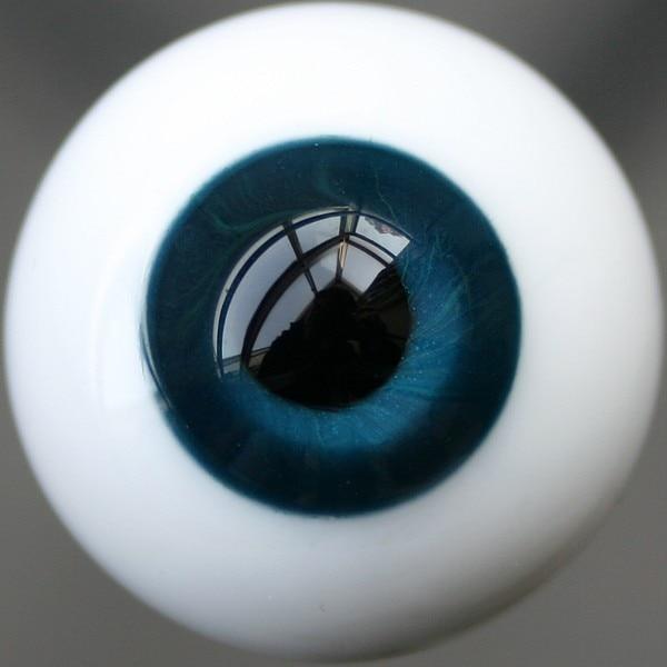 Deep Purple Iris/&Black Pupil Glass Eyes for mini BJD Doll Nice 12mm