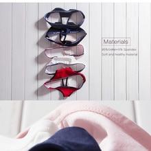 Women Sexy G-String Cotton Panties (6 colors)(3 pcs/set)