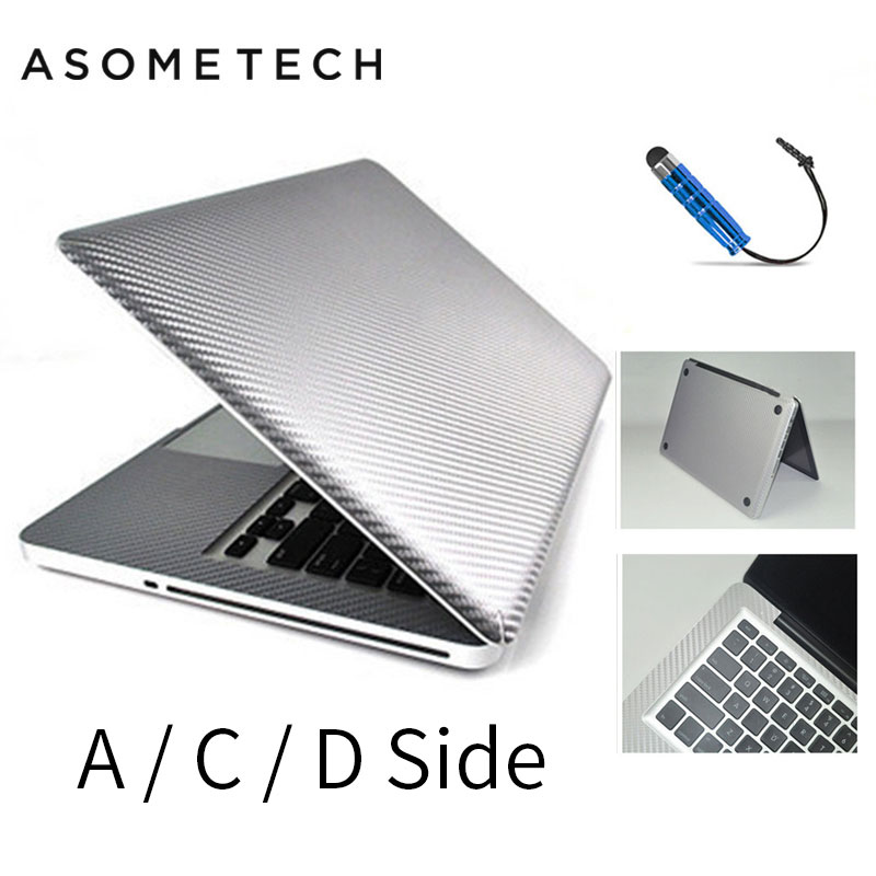 Transparent Breathable Laptop Sticker Decal For Apple Macbook Air Pro Retina 12 13 14 15 MAC Protective Clear Cover Sticker Skin купить в Москве 2019