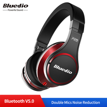 Оригинальные Bluedio U UFO беспроводные Bluetooth наушники 3D объемный высококачественный подлинный запатентованный 8 водителей HiFi Спортивная гарнитура с микрофоном