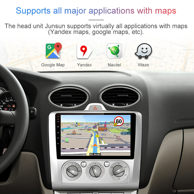Multimedia Player For ford focus 2005-2018