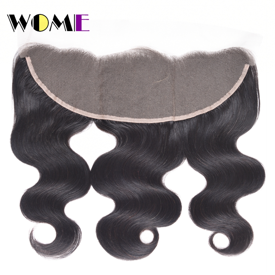 цена на LINLIN Hair Burmese Body Wave Frontal Closure 13*4 Ear to Ear Free Part Closure 130% Destiny Remy Hair Body Hair Rollers
