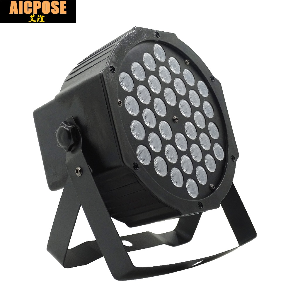 LED Par light 36x3W 36W High Power RGB Par Light With 3/6 Channels DMX512 Master Slave 36*3w Led Flat DJ Equipments Controller brick wall baby background photo studio props vinyl 5x7ft or 3x5ft children window photography backdrops jiegq154