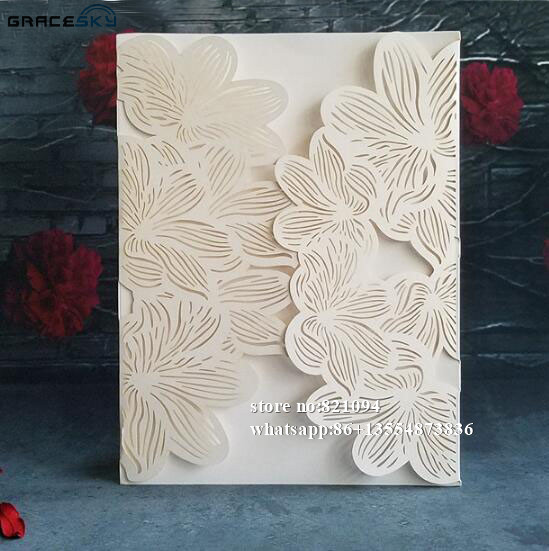50pcs free shipping laser cut party invitation supplies paper leaves 50pcs free shipping laser cut party invitation supplies paper leaves design wedding invitation cards with inner blank paper em cards convites de home stopboris Gallery