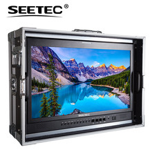 "P215-9HSD-CO Seetec 21.5 ""IPS Full HD 1920×1080 Carry-on Broadcast Monitor com Monitor de 3G-SDI HDMI AV YPbPr Diretor Mala"