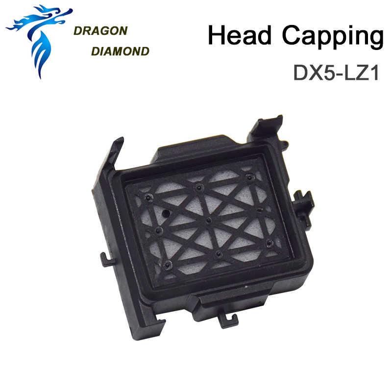 DX5 Mimaki JV33 Capping Stasiun DX7 Cap Top Pelarut Mutoh MIMAKI JV5 Cjv30 Mesin Cetak Digital Xuli Galaxy Print Head DX5 Cap stasiun