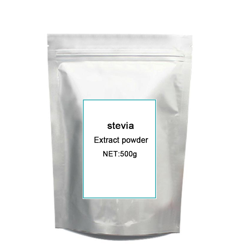 Factory Directly Stevia leaves extract stevioside of ISO9001 Standard 500g stevia extract ra98 zero calories sweetener