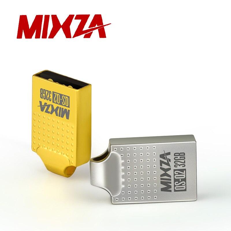 MIXZA QS-Q2 Mini USB Flash Drive USB Pendrive 4GB/8GB/16GB/32GB/64GB Flash Drive USB Stick USB 2.0 U Disk