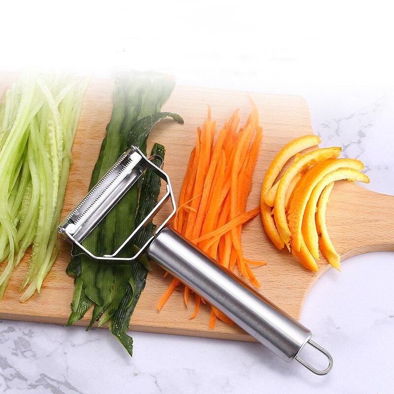 Multifunction Fruit Vegetable Peeler&Julienne Peeler Cutter Sharp Stainless Steel Potato Carrot Grater Planing Kitchen Tools|Peelers & Zesters|   - AliExpress