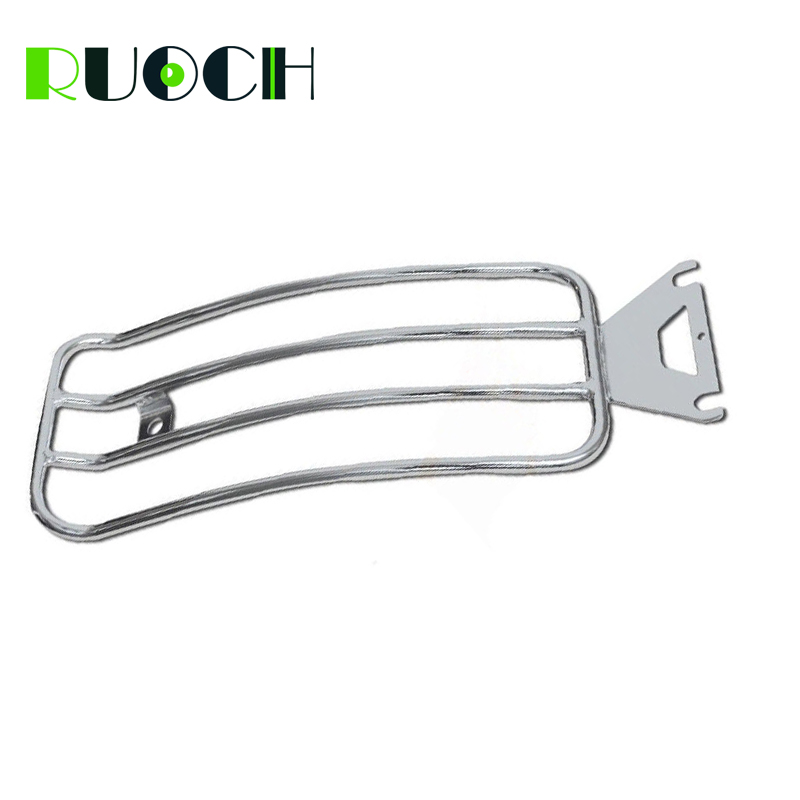 For Harley Touring Solo Seat Luggage Rack Shelf Support Rear Fender Electra Road Street Glide 1997-2015 Motorcycle Accessories (3)
