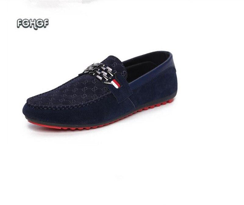 2019 sale Mens Loafers   Leather   Shoes Men Moccasins Slip On Mens Shoes Casual Trend Espadrilles Tenis Masculino Ayakkabi Tufli