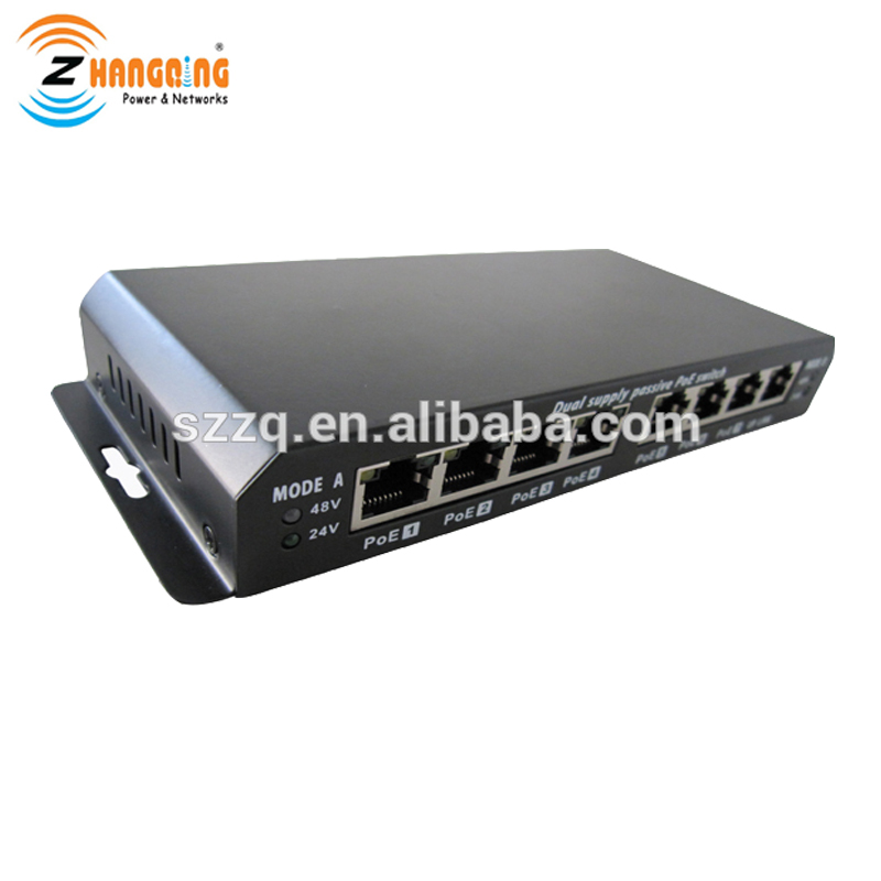 Image 5 - 8port Gigabit Ethernet Switch Passive POE 1000Mbps Switch  power over ethernet for UBNT / Mikrotik / 802.3af or 24V 48V devices-in CCTV Accessories from Security & Protection