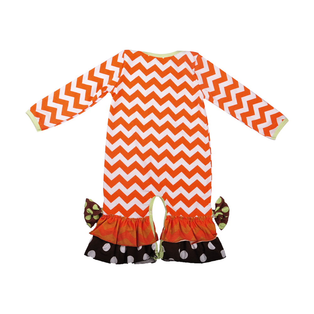69128ed10 Halloween Infant Romper Baby Girl Remake Outfit Baby Pumpkin ...