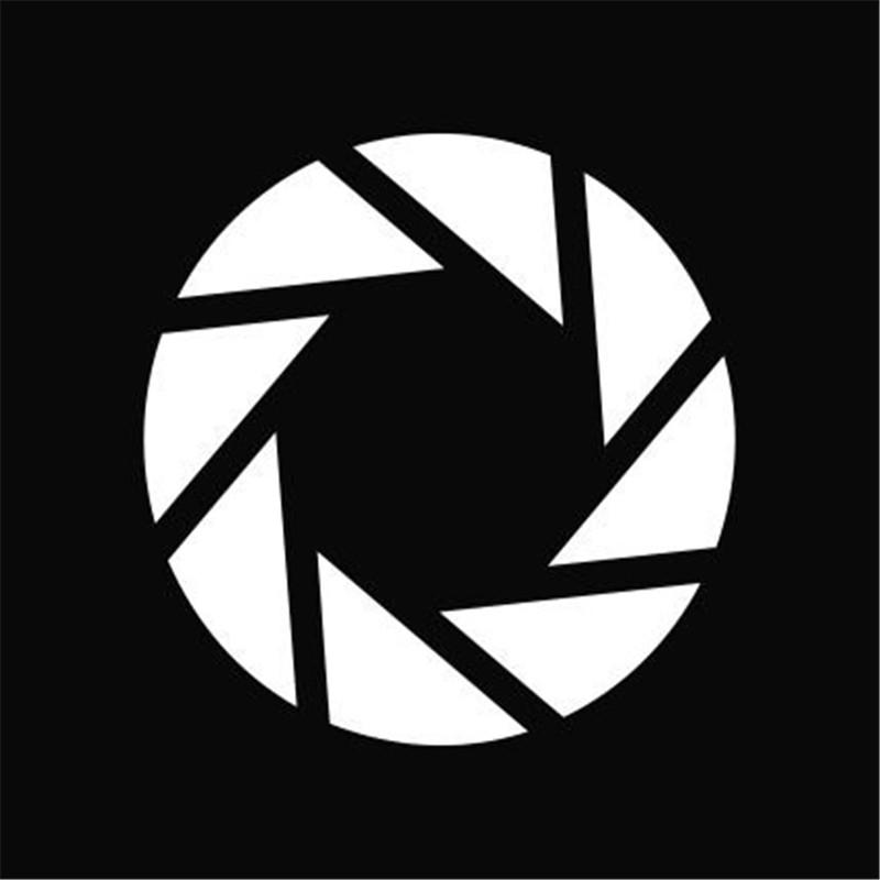 US $1 68  Aperture Science Portal Logo Vinyl Die Cut Bumper Windows Decal  Sticker 4