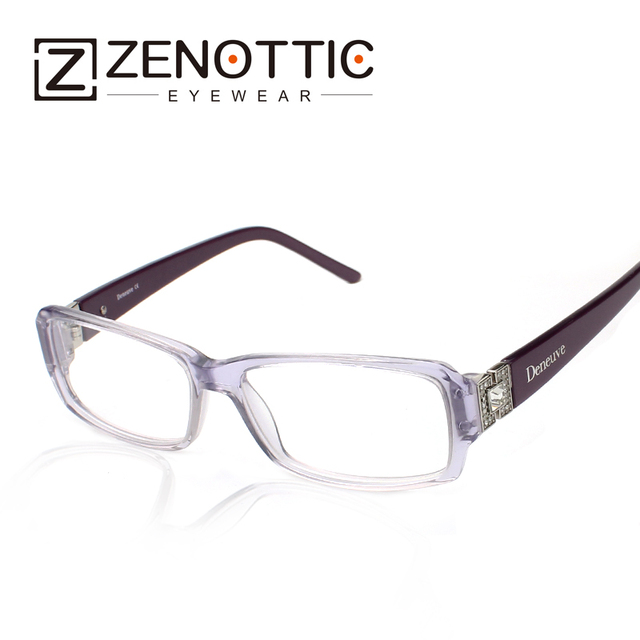 Zenottic 2018 Women Fashion Design Eyeglasses Frame Glasses Lady Style  Trendy Optical Eyewear Frames Oculos De 86fb9b13e912