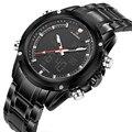 Homens relógios NAVIFORCE marca de luxo Homens Relógio de Quartzo de Aço Completo Relógio Digital Militar Do Exército Sport Watch relogio masculino 2016