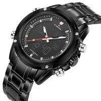 2016 NAVIFORCE Original Brand Men S Watches Luxury Quartz Men Full Steel Watch Digital Waterproof Sports