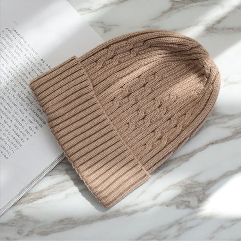 High Quality Winter Hats For Women Woolen Knitted Hat   Beanies   Couple Solid Color Warm hedging cap   Skullies     Beanie   For Girl
