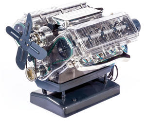 Image 3 - Spot V8 Motor Montage Modell Transparent Visuelle Runnable Geburtstag Geschenk Spielzeug