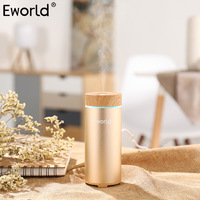 Eworld Mini Air Humidifier Car Steam Humidifier USB Portable Essential Oil Diffuser Aroma Fresh Ozone Air