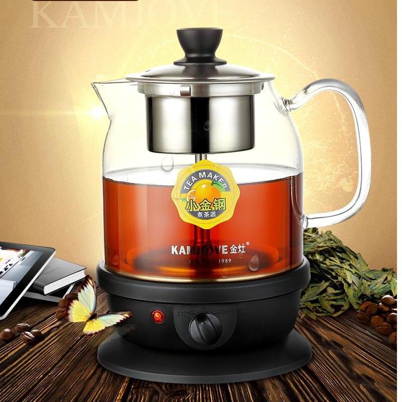 Kamjove A 50 Volledige automatische intelligente koken apparaat glas kook thee ware waterkoker glas thee pot-in Theepotten van Huis & Tuin op  Groep 1