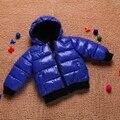 Детские хлопка-ватник верхняя одежда ребенок утолщение ватные ребенок маленький мальчик мальчики зимняя одежда девочек BC063