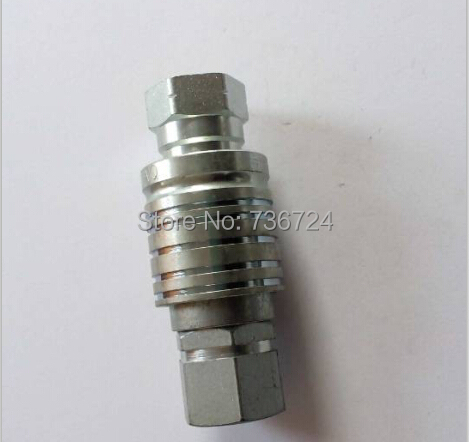 15 set (30pcs=15Male+15Female)  1/2 carbon steel push and pull type hydraulic quick couplings quick coupler fitting m18x1 5 thread male steel push and pull type hydraulic quick coupling hydraulic quick coupler