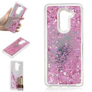 Чехол для Alcatel 3X 5058i, чехол с зыбучим песком, блестящий порошок, зеркальные жесткие чехлы для мобильных телефонов