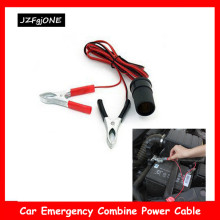 12 В Авто Автомобиль Лодка батарея кабели Прикуриватель разъем зажим для клеммы аккумулятора-на женский адаптер питания Разъем удлинитель