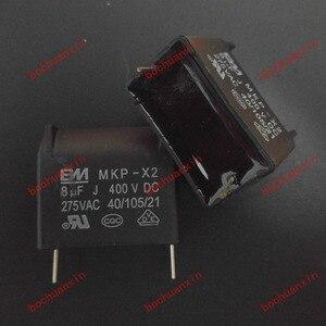 Free Shipping! Cooker Capacitor MKP-X2 MKP X2 8UF 275VAC / 400VDC(China)