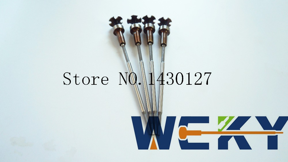 4pcs/set Common Rail Valve Set F00VC45200 F 00V C45 200 F00VC45204 F 00V C45 204 For CR Injector 0445110418 /0445110520 цена
