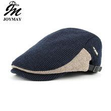JOYMAY nowe zimowe bawełniane czapki Berety dla mężczyzn casual czapki Berets kapelusze Casquette Cap Y035 tanie tanio Bawełna poliester Dorosłych Patchwork