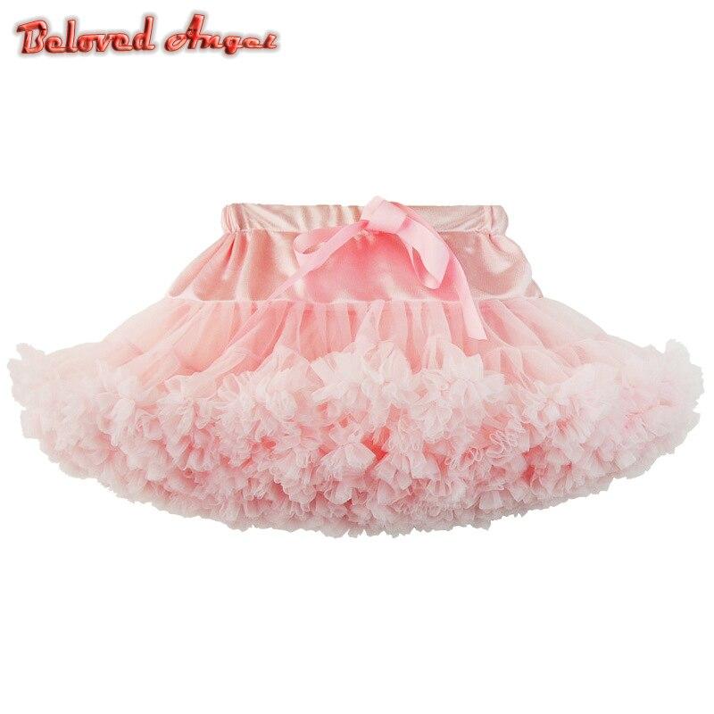 d8c70379e 2019 falda de Navidad tutú mullido faldas de tutú para niñas y bebés falda  de fiesta de Ballet ...