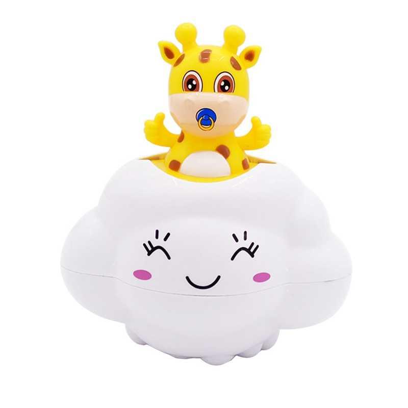 Игрушка для купания игрушки для купания Душ Забавный пляж ребенок младшего возраста младенец облако игрушки олень дождь