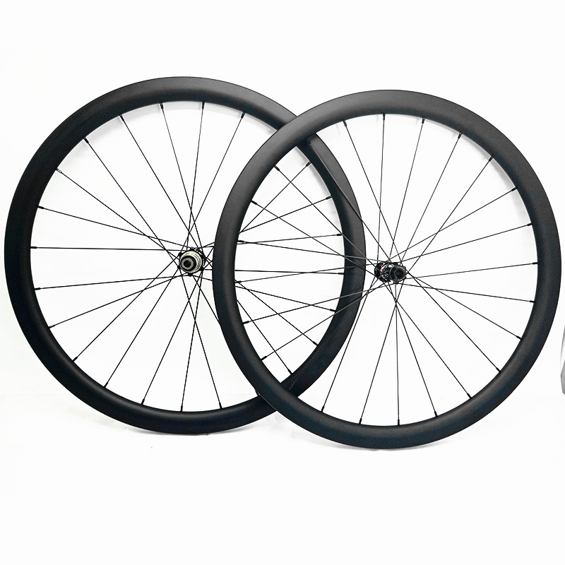 carbon disc wheels 700c 25x25mm tubular road disc wheels 100x12 142x12 bicycle road wheelset 1230g