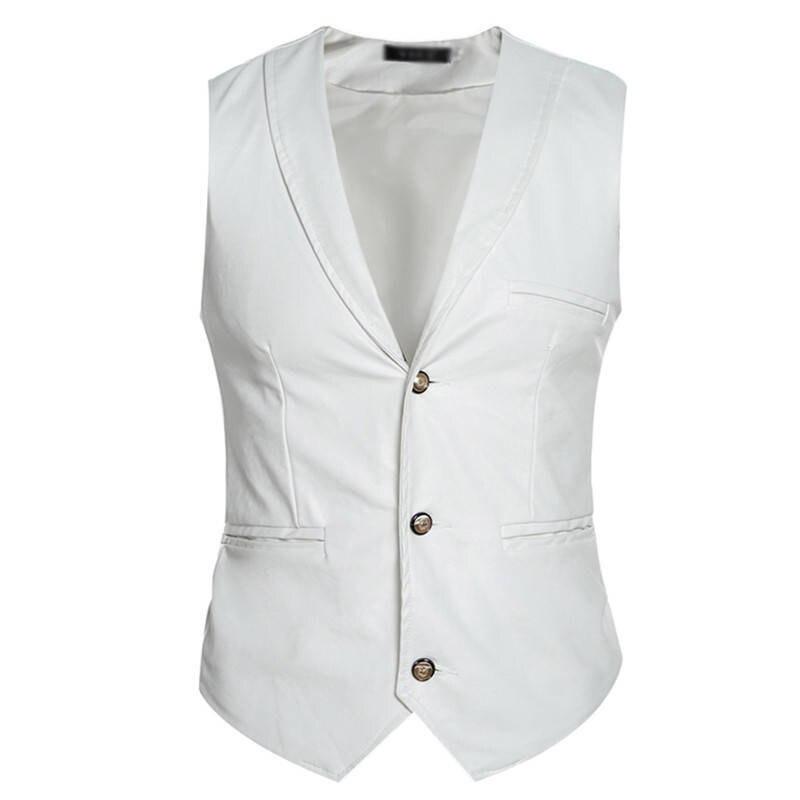 X-Future Mens Sleeveless V-Neck Knit Casual Slim Plaid Sweater Vest Waistcoat