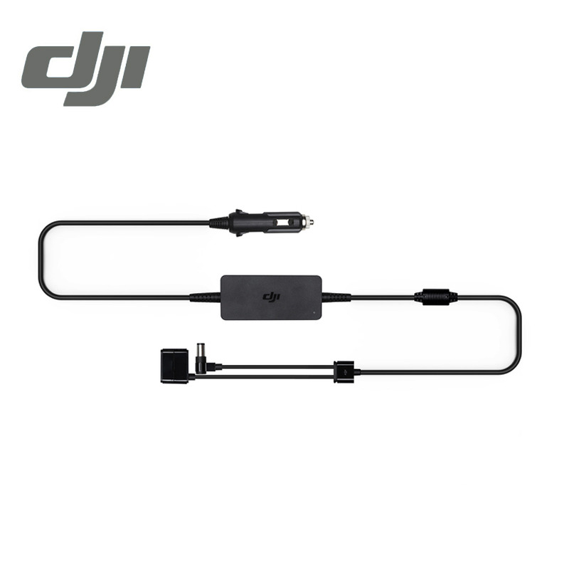 DJI Phantom 3 Series Adaptor Car Charger Kit 17.4V 90W for Phantom3 Series Flight Battery Charging Adapter Original Accessories dji spark drone 3 in 1 car charger battery charging