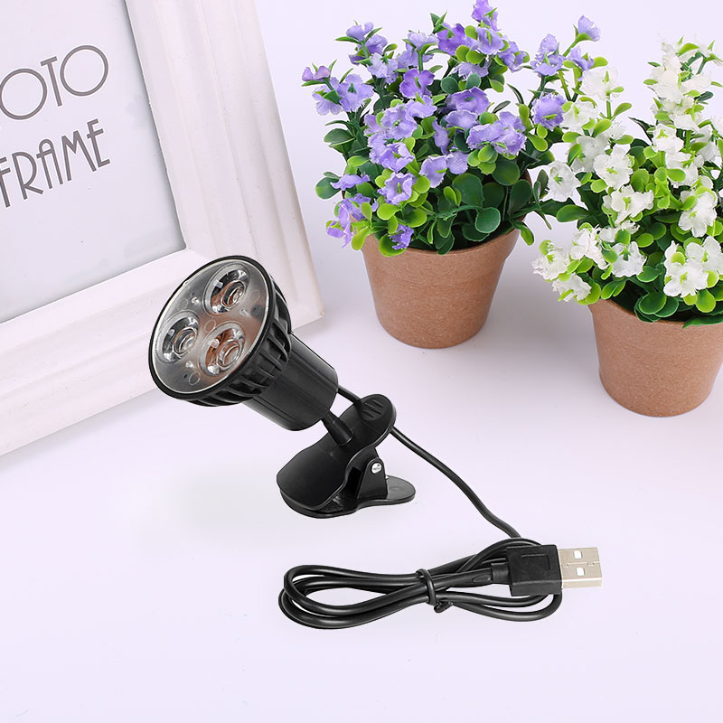 USB 2.0 3LED 5 В зажима клип ноутбук свет лампы для настольных Планшетные ПК чтения
