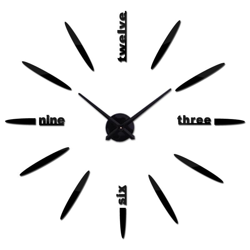 novi ukras doma dnevni boravak kvarc moderni zidni sat moda diy - Kućni dekor - Foto 2