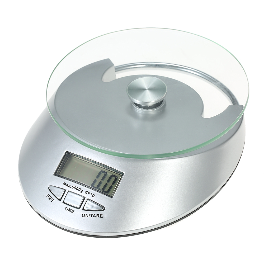 5kg/1g Accurate LCD Electronic Scale Kitchen Scale Weight Balance ...