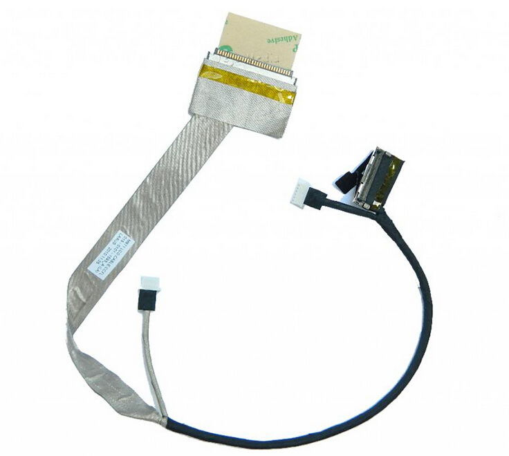 WZSM New LCD Screen Video Cable for Sony Vaio VPCEB VPC-EB VPCEB15FM M970 M971 laptop P/N 015-0401-1508_A white azerty for sony vaio vpceb series clavier french keyboard