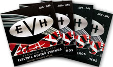 Fender EVH Eddie Van Halen Premium Electric Guitar Strings, 09-42 09-46 10-46 10-52