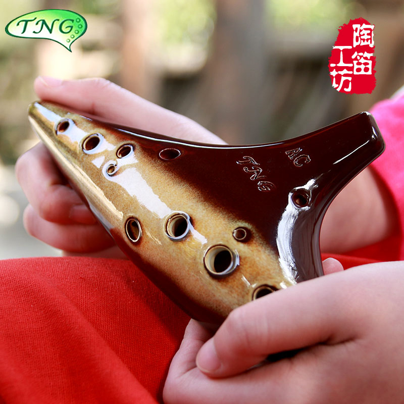 ocarina variable tenor AC 12 hole ocarina high SC SF SG twelve Kong Tao flute beginner recommended instruments