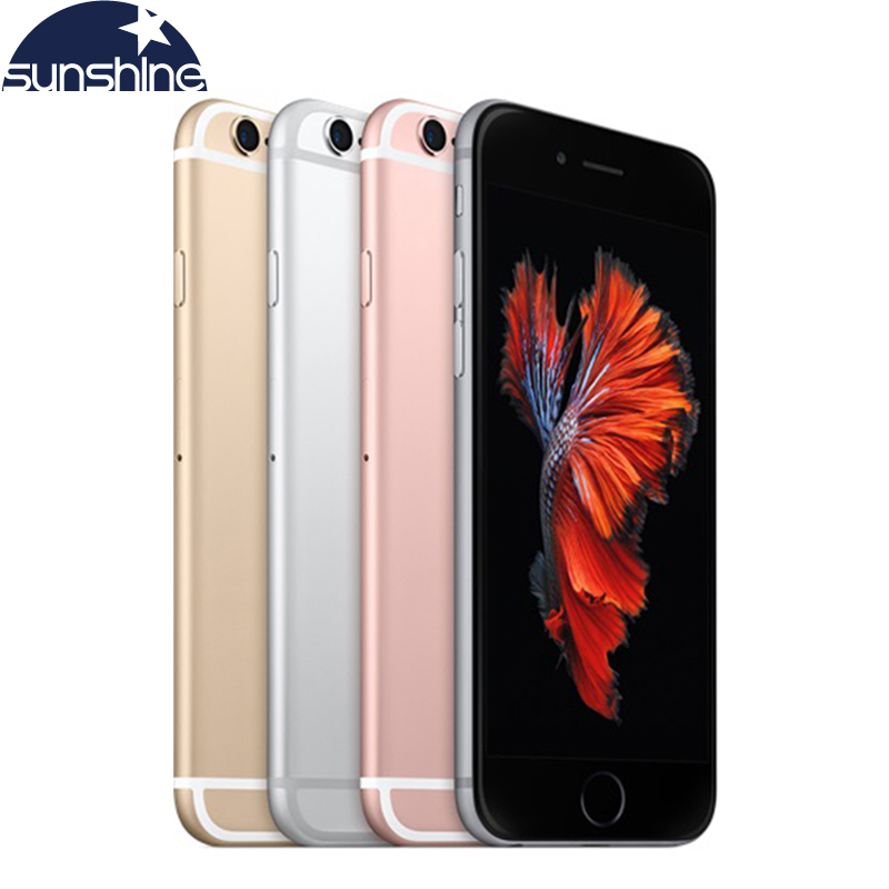 Original Unlocked Apple iPhone 6S/iPhone 6S Plus Mobile phone 12.0MP 2G RAM 16/32/64/128G ROM 4G LTE Dual Core WIFI Cell Phones image