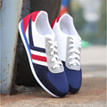 Новая Мода Размер 39-44 Воздушные Дышащая мужская Повседневная Обувь Противоскользящие Холст Мужской Обуви Sapatos Tenis Мужской Плоским с Классической Обуви